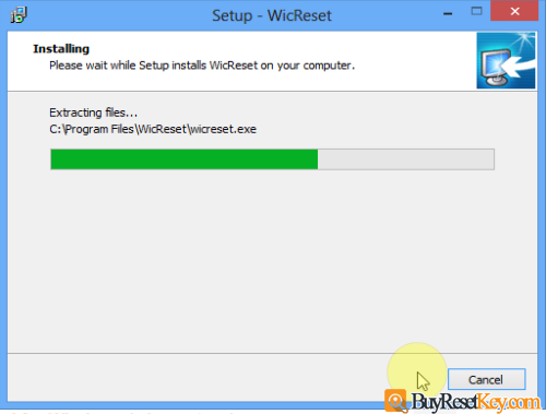 wicreset tool is installing